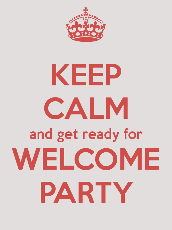 Image result for welcome party